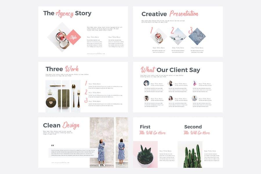 STYLE - Multipurpose PowerPoint Template V50 - 2