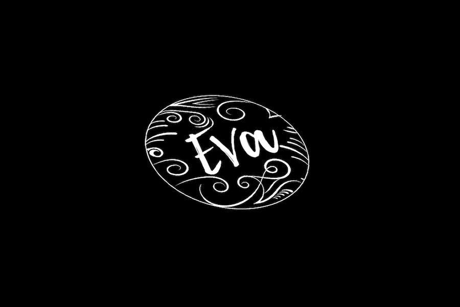 Chalkboard Style Logo Template - 0
