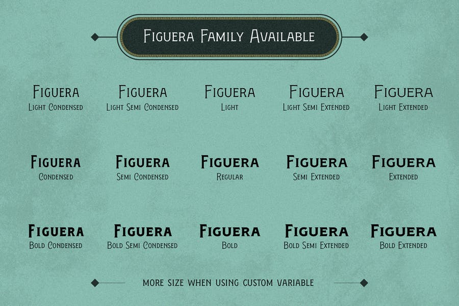 Figuera Variable Fonts - 2