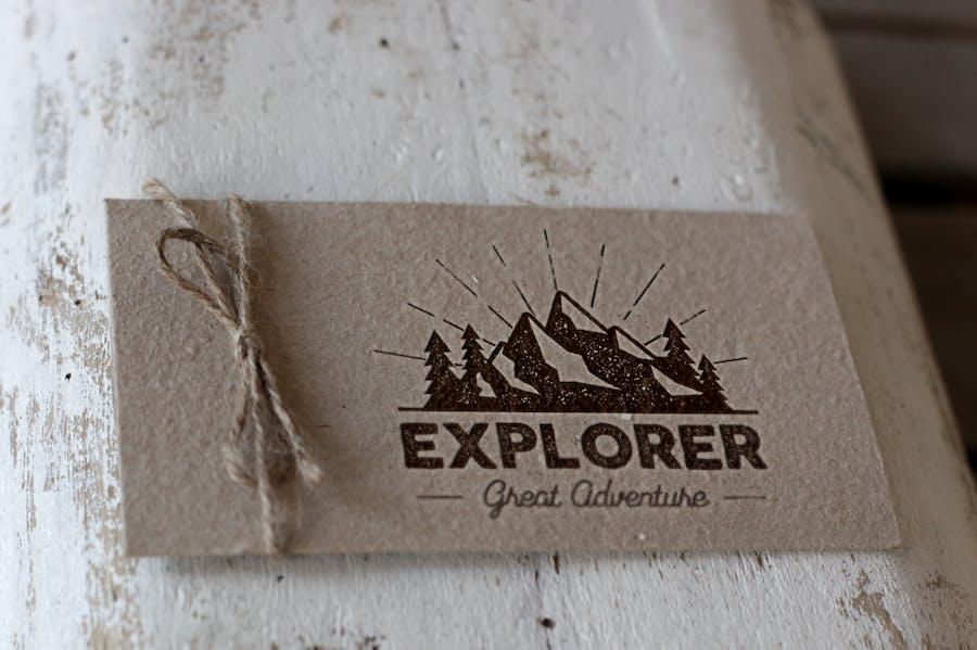 Outdoor Explorer Tee Design - 2
