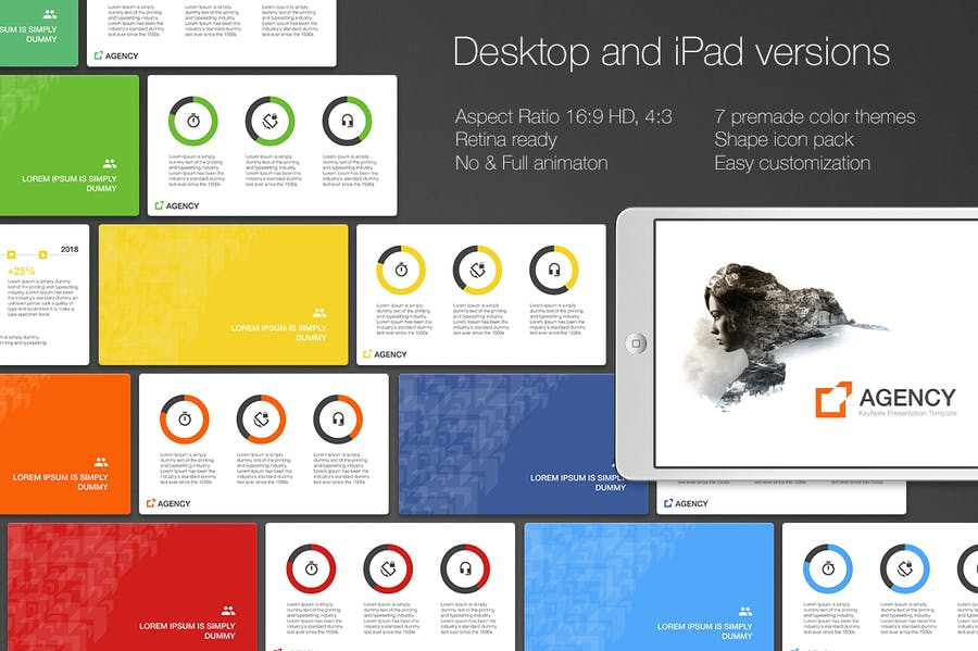 Agency PowerPoint Template - 0
