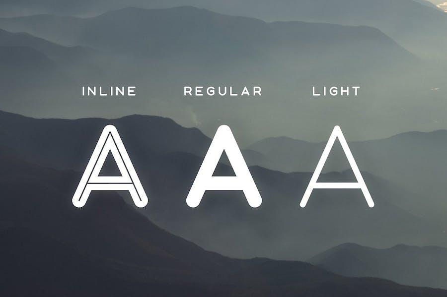 Aoki Typeface - 1
