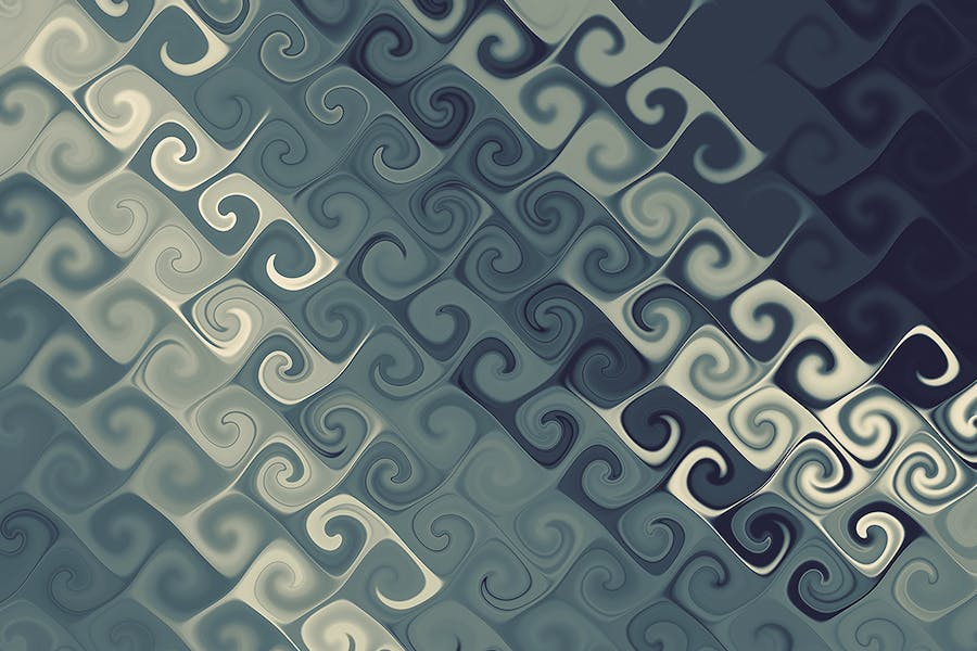 Curly Backgrounds - 1
