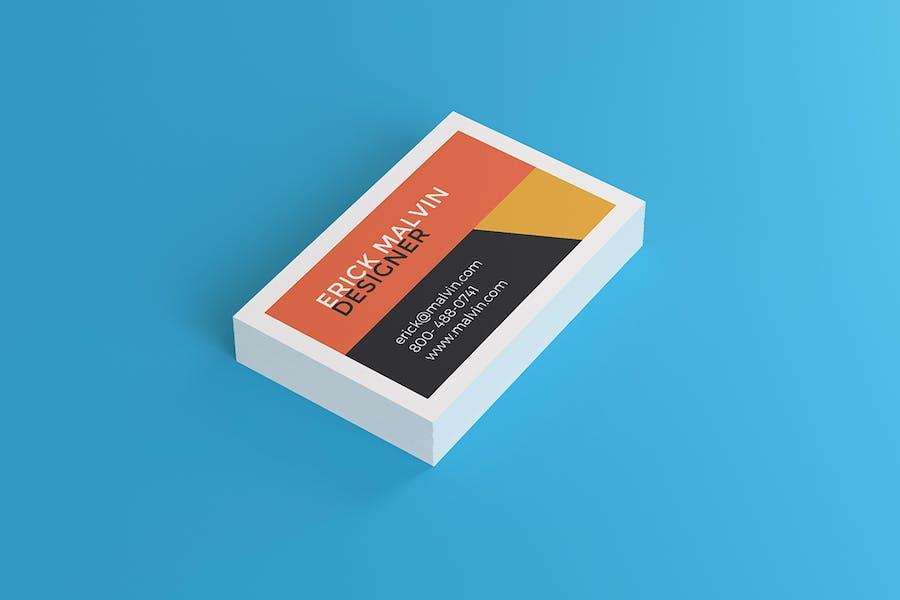 UK Business Cards Mock-up's [85×55 mm] - 3