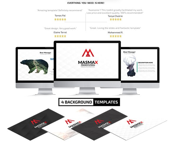 Masmax Powerpoint Template - 0