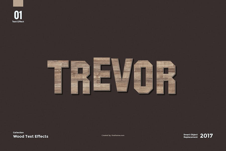 8 Wood Text Effects - 1