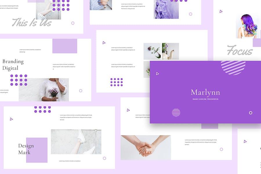 Marlynn - Branding Guidelines Powerpoint - 2