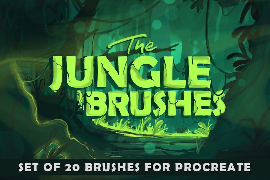 The Jungle: Procreate Brushes - 0