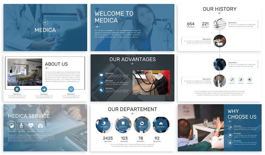 Medica - Healthcare Keynote Template - 0