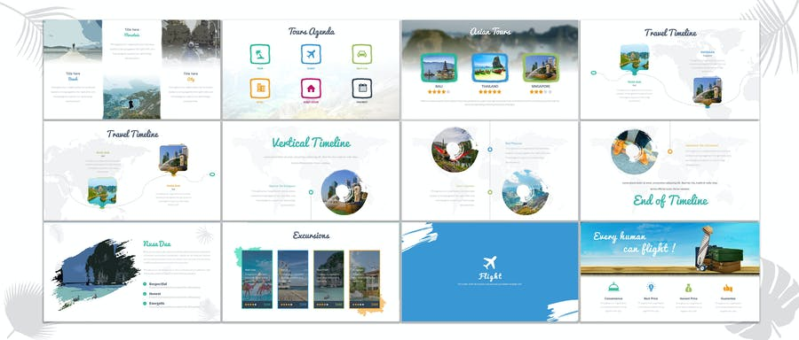 Triping - Travel Powerpoint Template - 1