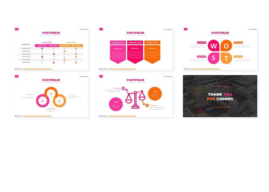 Portfolio - Powerpoint Template - 2