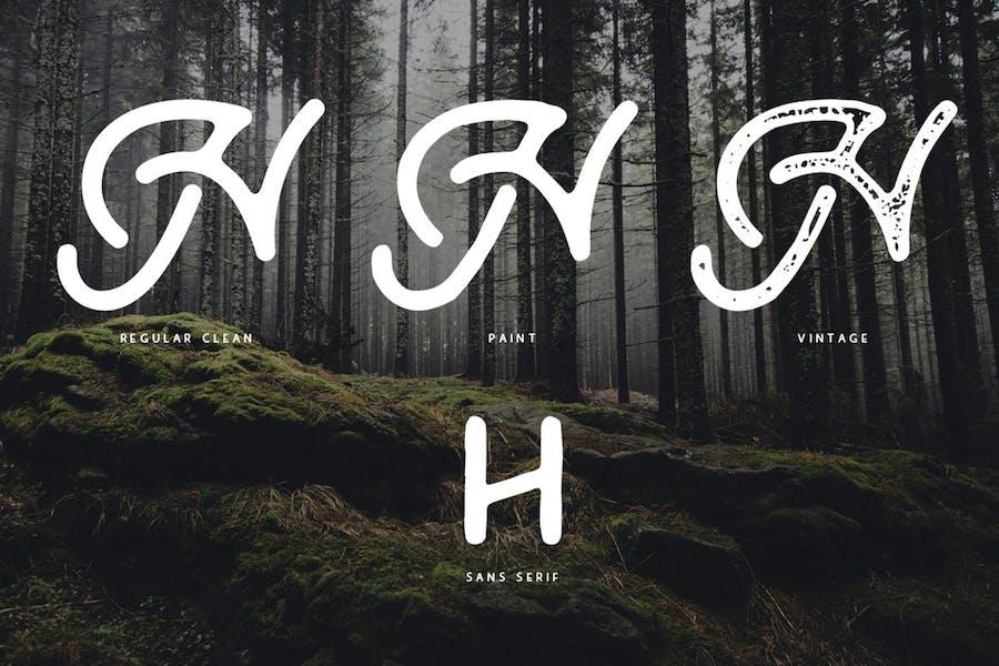 Ramblin Font Duo - 0