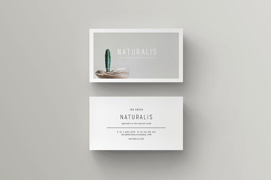 NATURALIS Business Card - 3