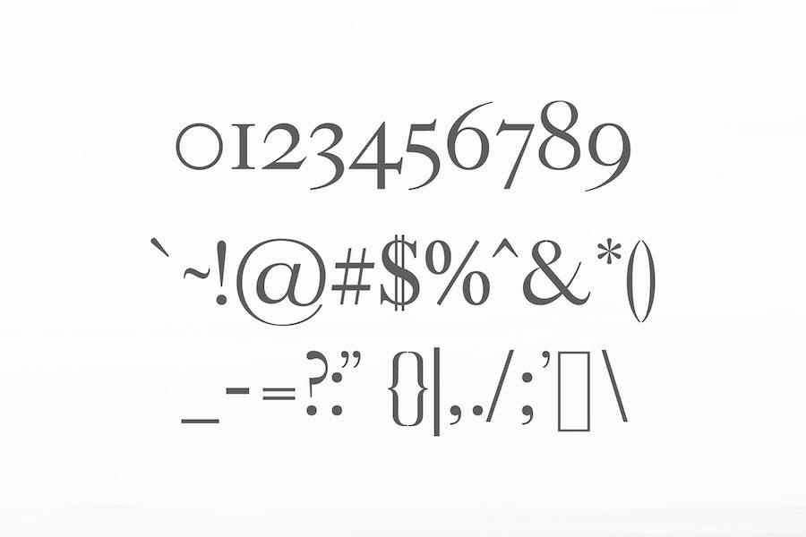 Adallyn Serif Font Family Pack - 1