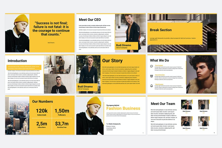 Business Proposal Template - 0
