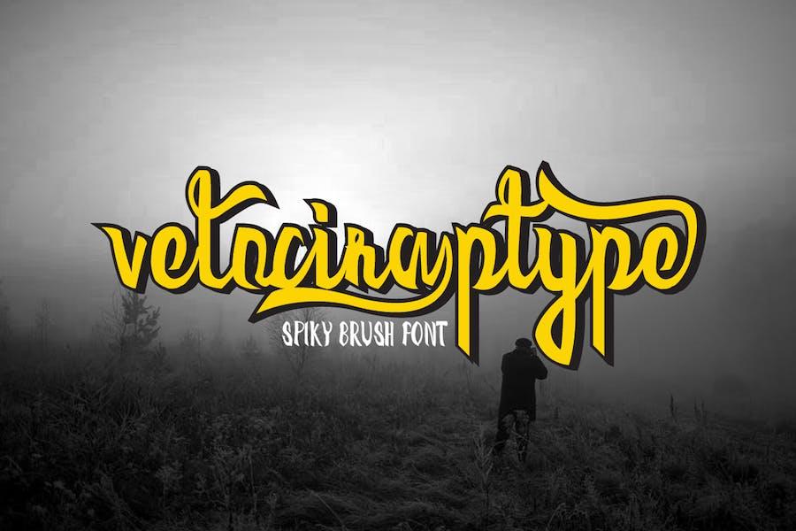 Velociraptype Font - 0