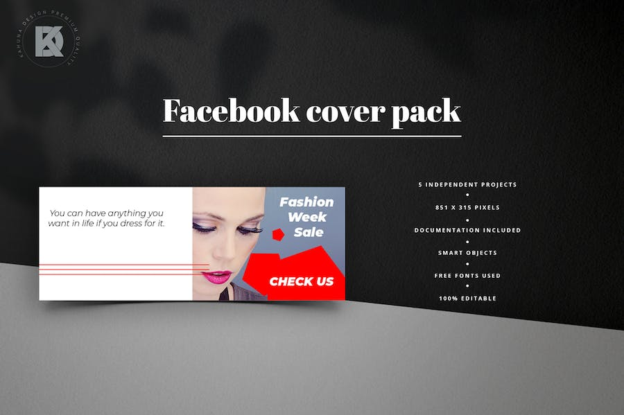 Fashion Facebook Pack - 0