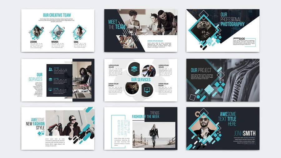 KIRANA - Multipurpose Powerpoint Template - 3
