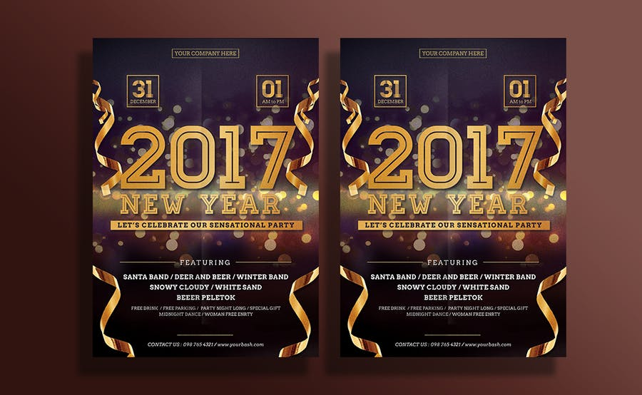 New Year Flyer - 0