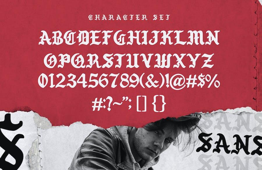 Winsor Typeface - 2