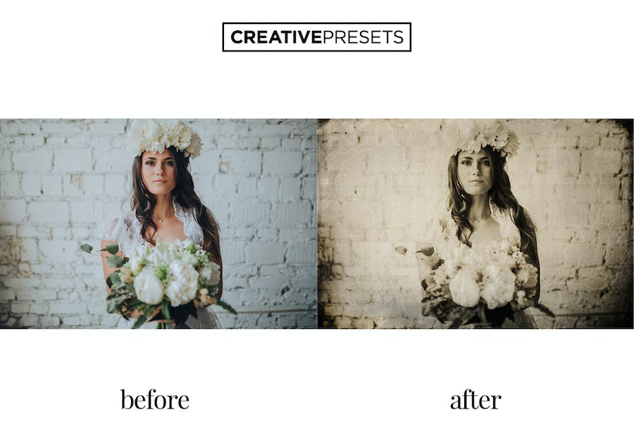 Wet Plate Lightroom Presets + Overlays - 2