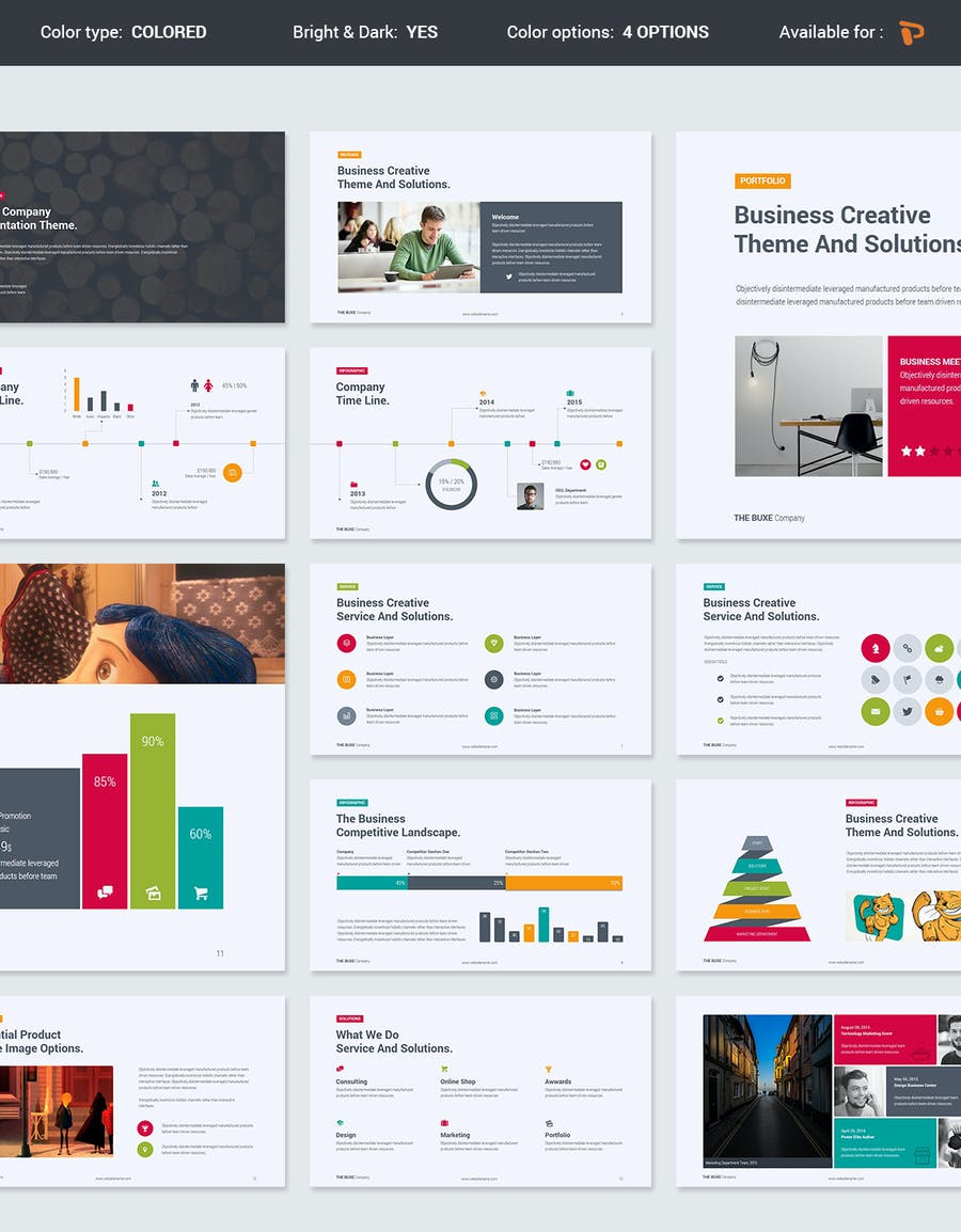 Buxe Creative & Multipurpose Template - 1