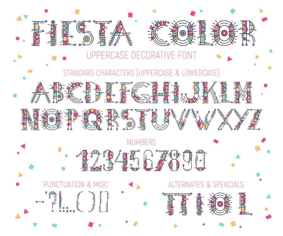 Fiesta Color Font - 0