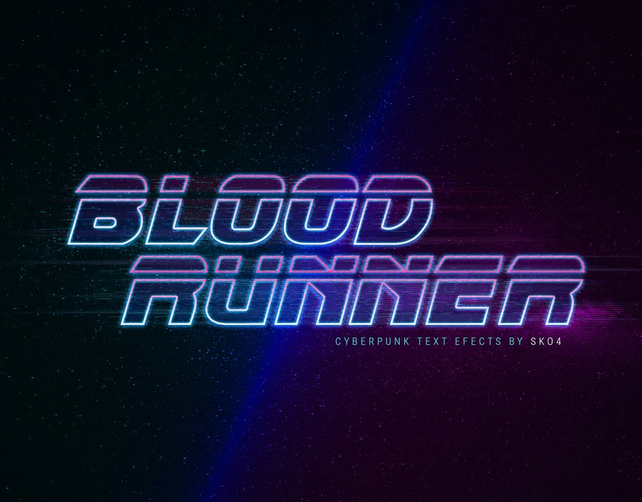 Cyberpunk - 80s Retro Text Effects - 2