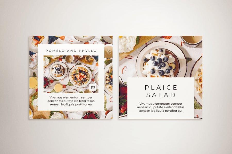 Food Instagram Post & Instagram Story Template - 2