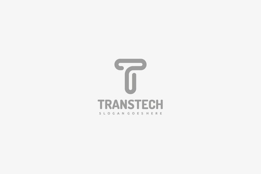 T Letter Logo - 2