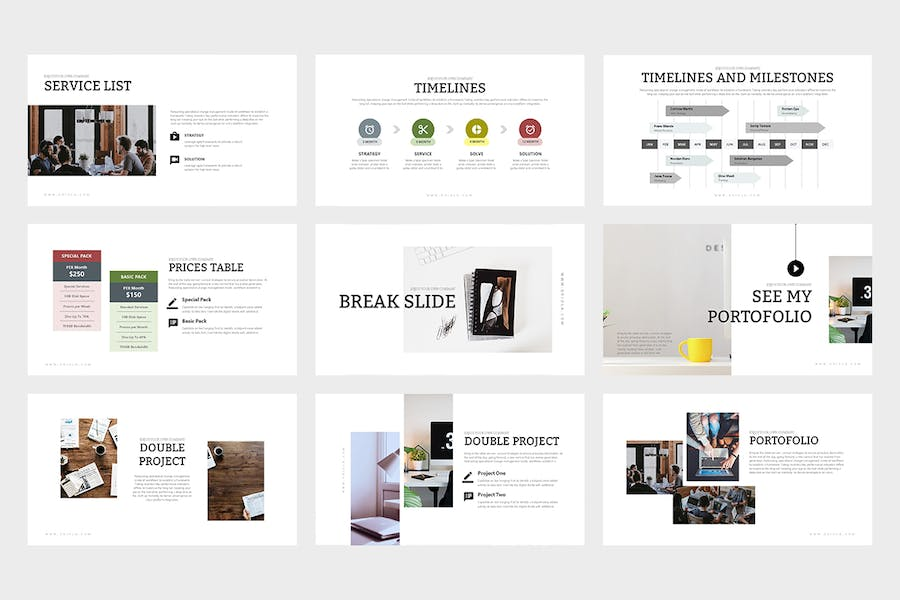 Oriola : Business Powerpoint Template - 1