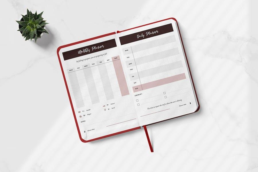 Daily Creator Planner Book Vol.01 - 0