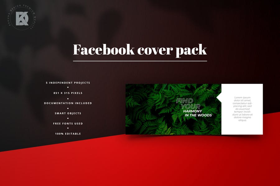 Facebook Cover Pack - 3
