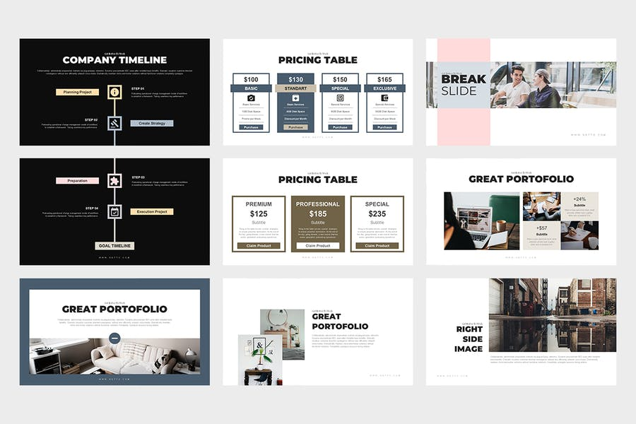 Netto : Architecture and Real Estate Powerpoint - 1