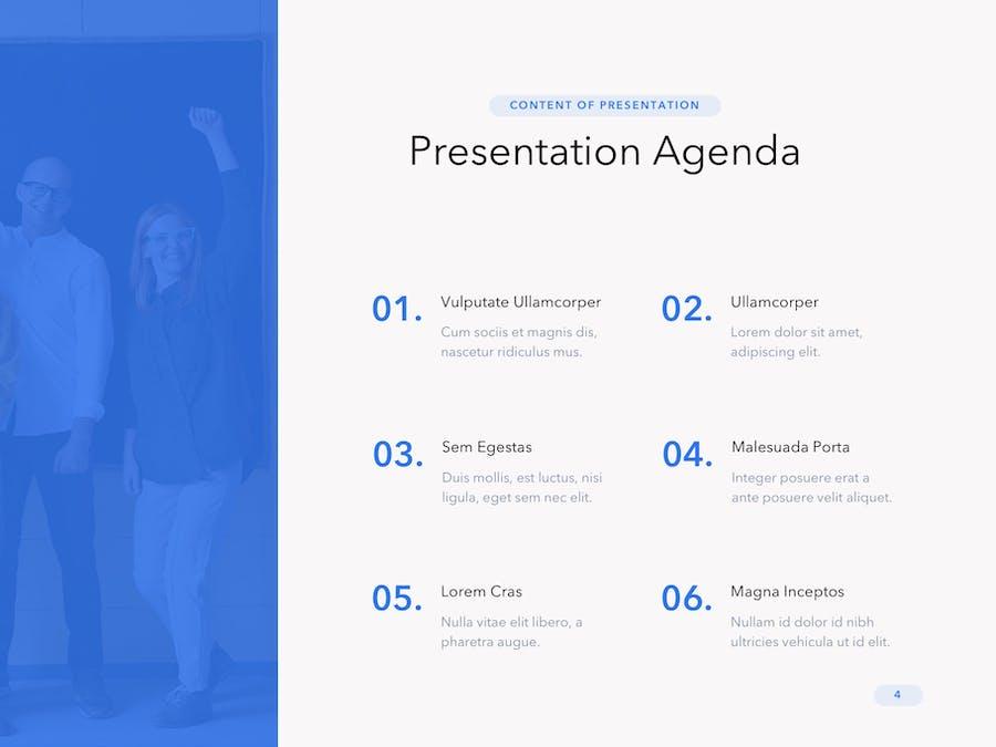 Cobalt Business PowerPoint Template - 3