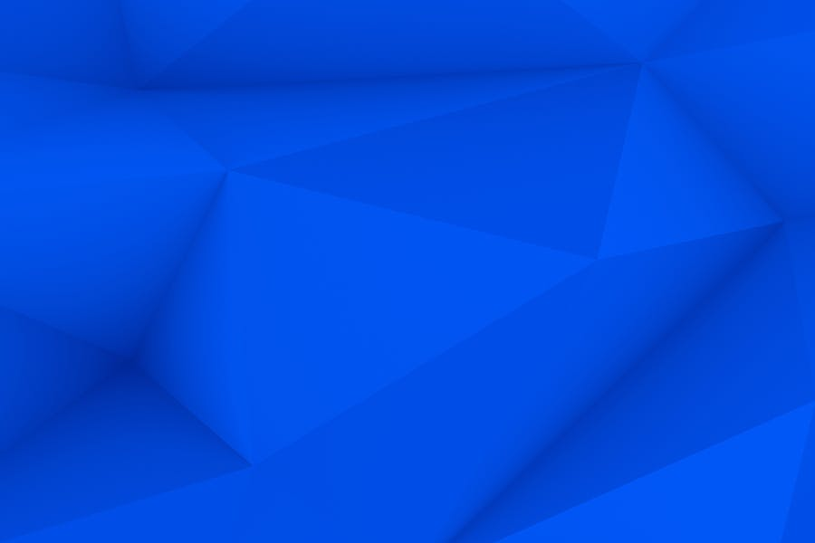 Blue Polygon Backgrounds - 3