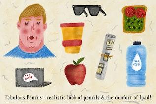 Fabulous Pencils for Procreate - 1