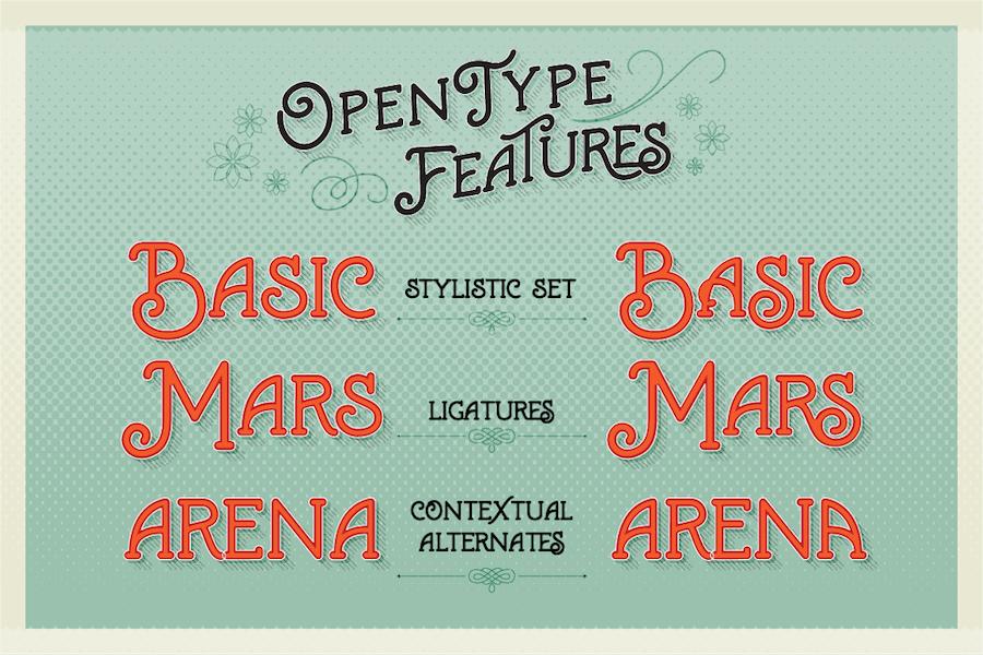 Marema Typeface - 1