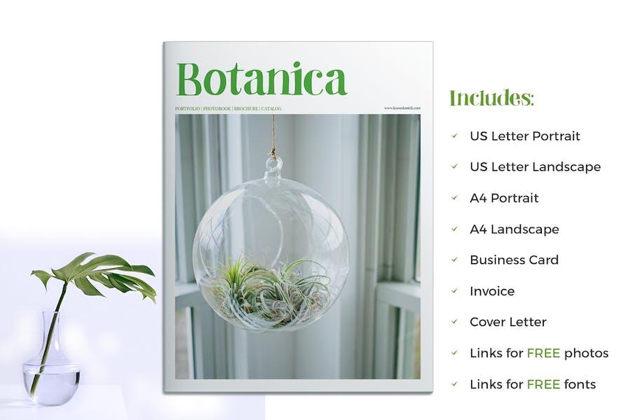 Botanica - Portfolio / Photobook / Brochure - 0