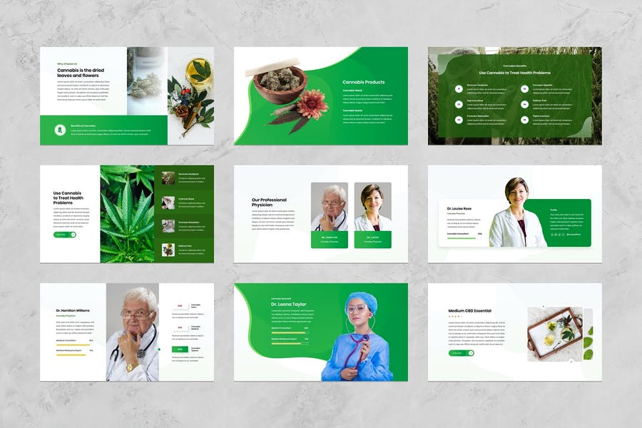Cannaby - Cannabis Presentation Templates - 2