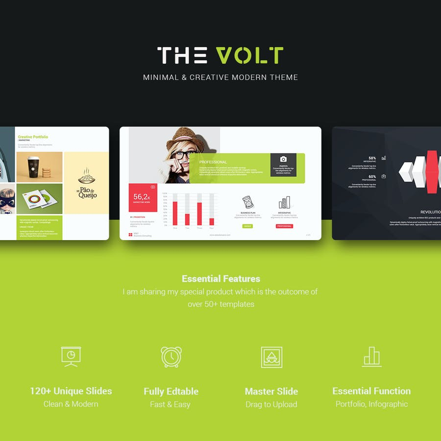 Volt Multipurpose Template - 0