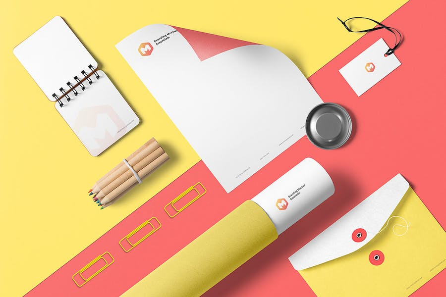 Branding Mockup Essentials Vol. 3 - 1