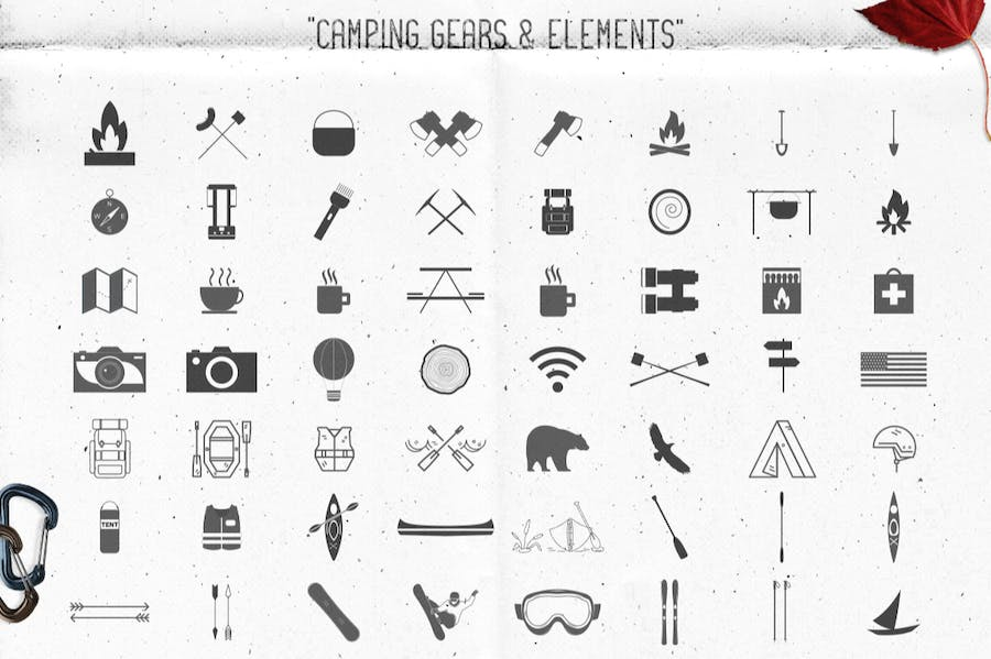 Logo Template Creation Kit - Camping Edition - 3