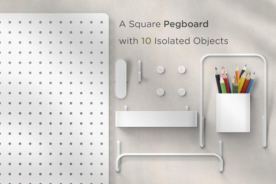 Pegboard - Moodboard Scene Generator - 0