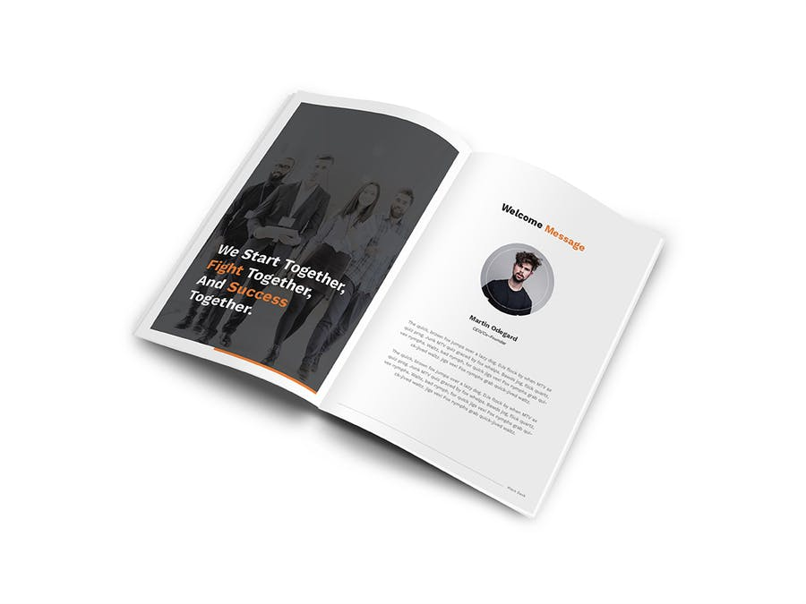 Pitch Deck A4 Brochure - 2
