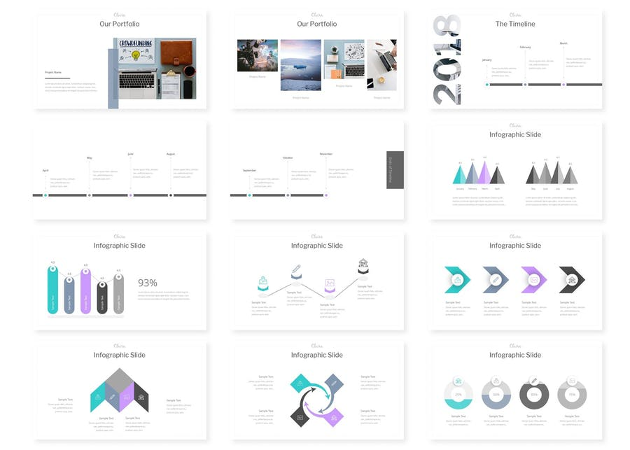 Cleira - Powerpoint Templates - 1
