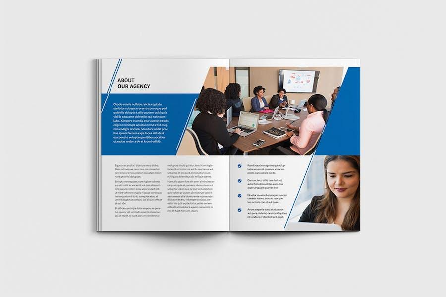 AgencyPro - A4 Agency Brochure Template - 2