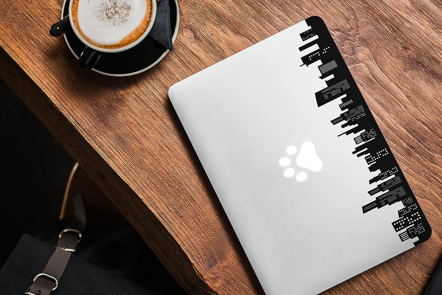 MacBook Skin Mock-Up - 0