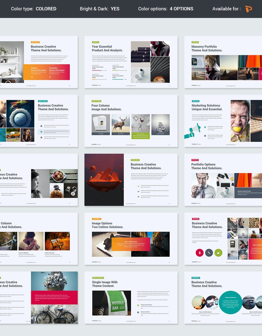 Buxe Creative & Multipurpose Template - 3