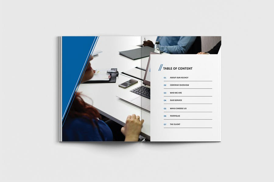 AgencyPro - A4 Agency Brochure Template - 1